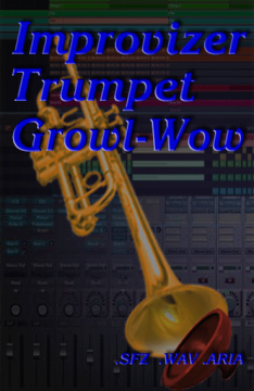 SFZ Trumpet Growl Wow Kontakt library